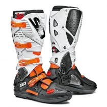 Sidi Crossfire3 SRS black-white-orange csizma