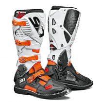 Sidi Crossfire3 black-white-orange csizma